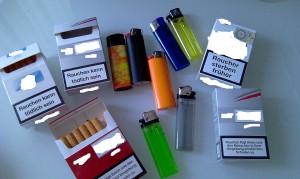 Das Geld für andere schöne Dinge ausgeben. Nicht mehr nachts zur Tanke laufen müssen. Rauchfrei aus eigenem Willen werden. Tschüß Zigaretten!